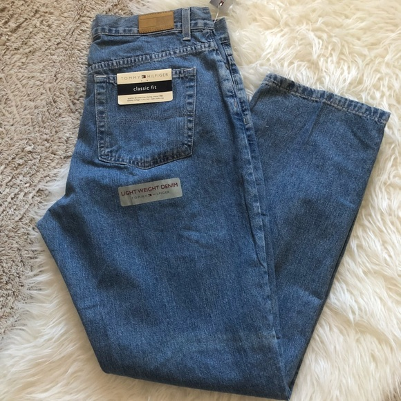 Tommy Hilfiger Denim - Tommy Hilfiger size 16r light wash classic jeans